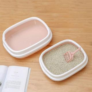 Toalet za mace - Posuda za pesak sa lopaticom 40 x 33 x 12 cm