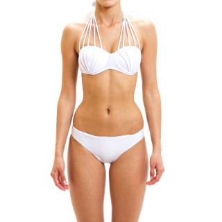 Dvodelni ženski kupaći kostim - BUST UP WHITE