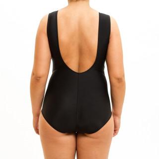 Jednodelni ženski kupaći kostim PLUS SIZE - FIVE BLACK