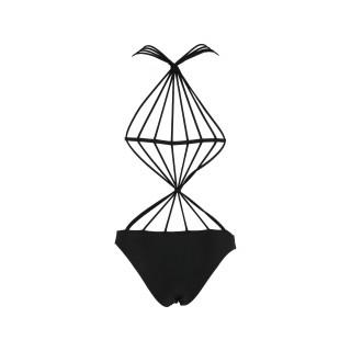 Jednodelni ženski kupaći kostim - SPIDER BLACK