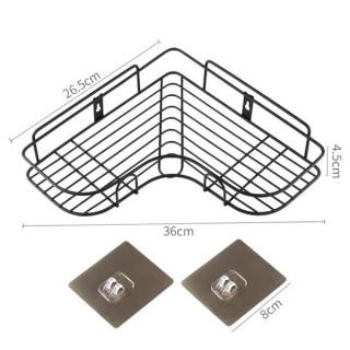 Ugaone metalne police koje se montiraju lepljenjem