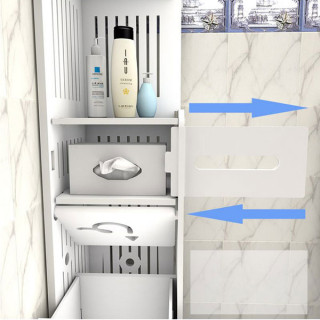 Moderan beli orman za kupatilo ili kuhinju