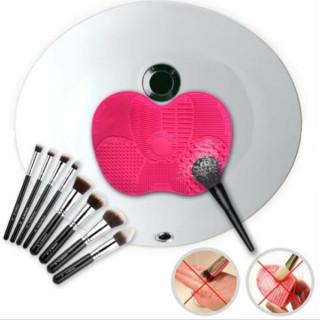 Brush cleaner-podloga za pranje četkica za šminku
