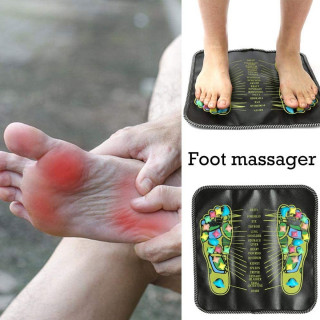 Udobna podloga sa kamenčićima za relaksaciju stopala