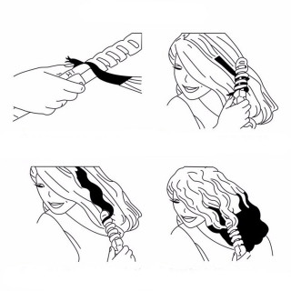 Električni figaro za kosu - sa zaštitnom spiralom