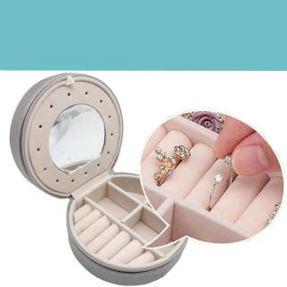 Kutija za nakit sa ogledalom i podesivim pregradama