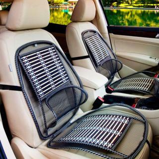 Mrežasti naslon za auto sedište od bambusovog drveta