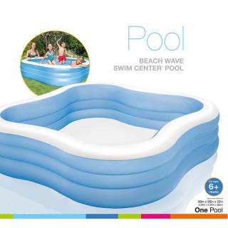 INTEX 57495NP/EP Blue fun pool - Plavi dečiji bazen