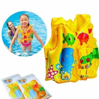 59661NP/EP INTEX Sigurnosni dečiji prsluk za plivanje