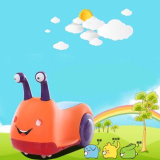 Snail Car - Bebi auto u obliku pužića