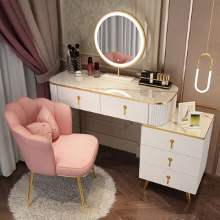 ARIEL - Rose Gold Salonska stolica sa jastučićem