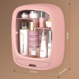 Roze ormarić za šminku i kozmetiku