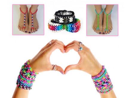 4 devojčice velikog srca: plele narukvice da blizancima iz Obrenovca kupe igračke