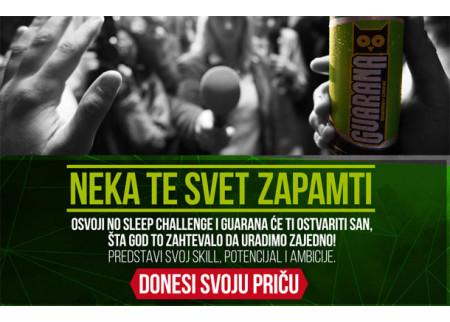 Guarana NO SLEEP Challenge