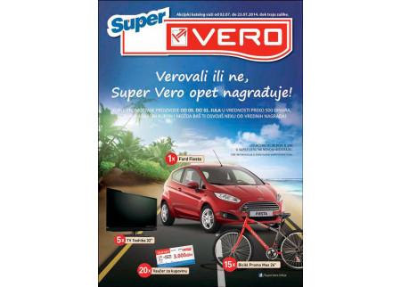 Verovali ili ne, Super Vero opet nagrađuje!