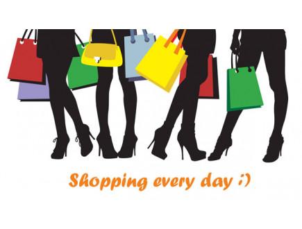 Žene u životu 8 godina provedu u kupovini