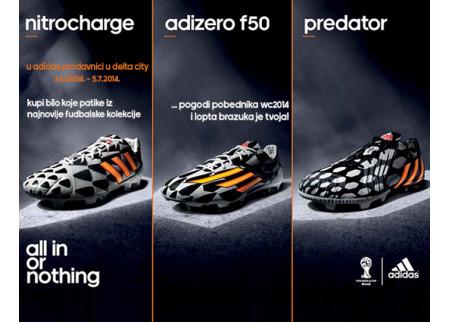 Nove Adidas kopačke u Sport Visionu u Delta Cityju!