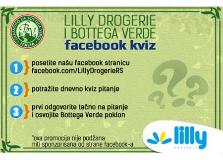 Bottega Verde facebook kviz!