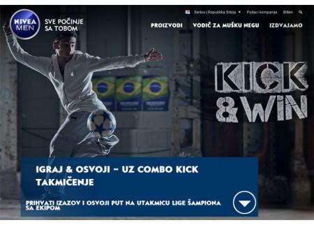 Nivea men kick&win takmičenje