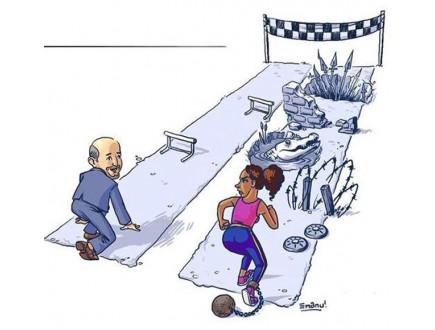 I najplaćenije žene zarađuju manje od muškaraca