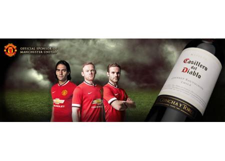 Casillero del Diablo vas vodi na utakmicu Manchester United-a