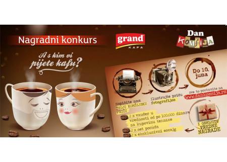 A s kim Vi pijete kafu?