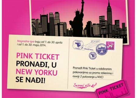 Pink Ticket pronađi, u Njujorku se nađi!