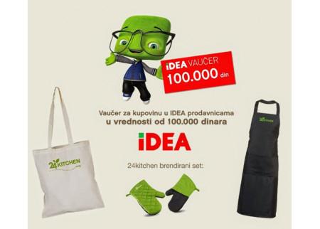 24Kitchen i IDEA - vreme je da budete nagrađeni!