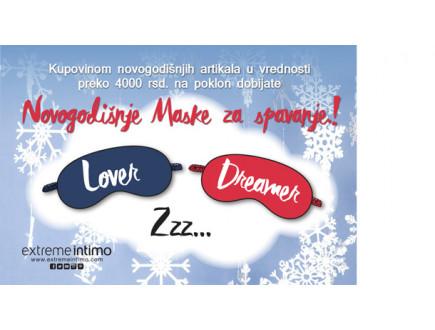 Extreme intimo - novogodišnje maske za spavanje!