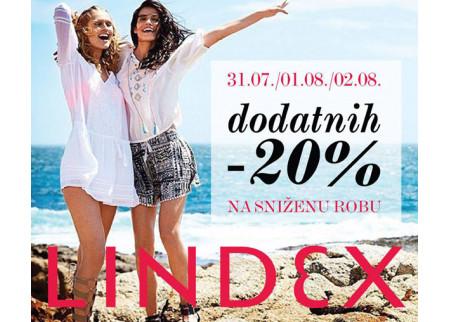 Lindex - 3 dana super popusta!