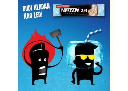Nescafe: Budi hladan kao led