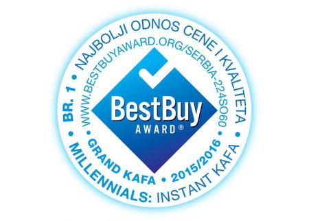 Grand kafa instant dobitnik nagrade BEST BUY AWARD!