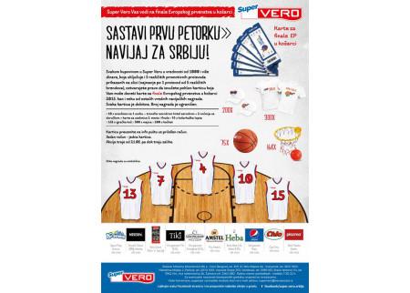 Super Vero Vas vodi na finale Evropskog prvenstva u košarci!