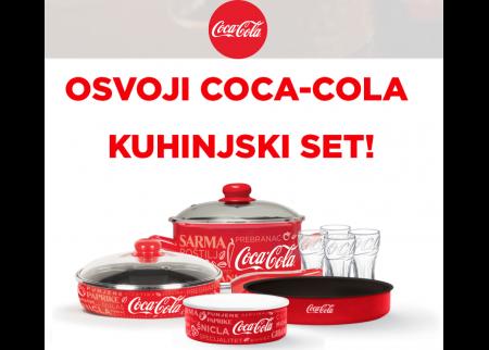 Sakupljaj bodove i osvoji COCA-COLA kuhinjski set