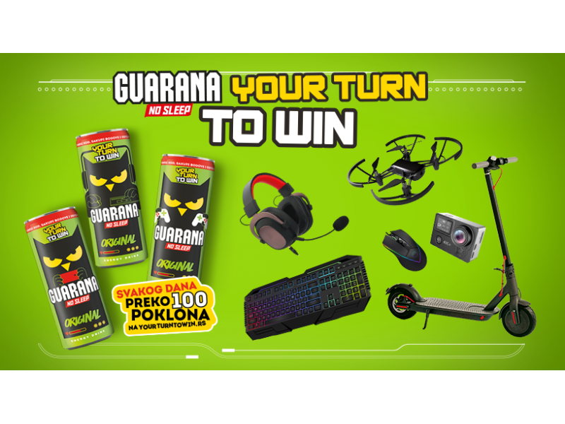 Your Turn To Win - Guarana nagradna igra 2020