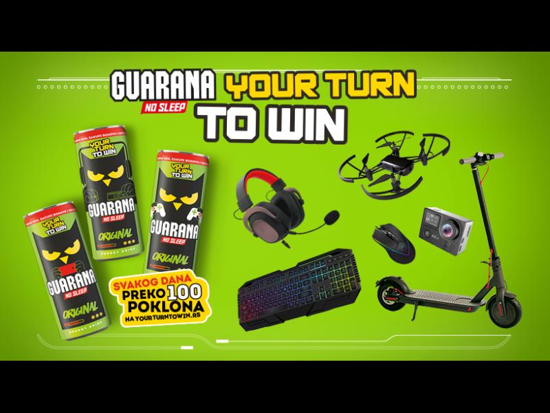 Your Turn To Win - Guarana nagradna igra 2020