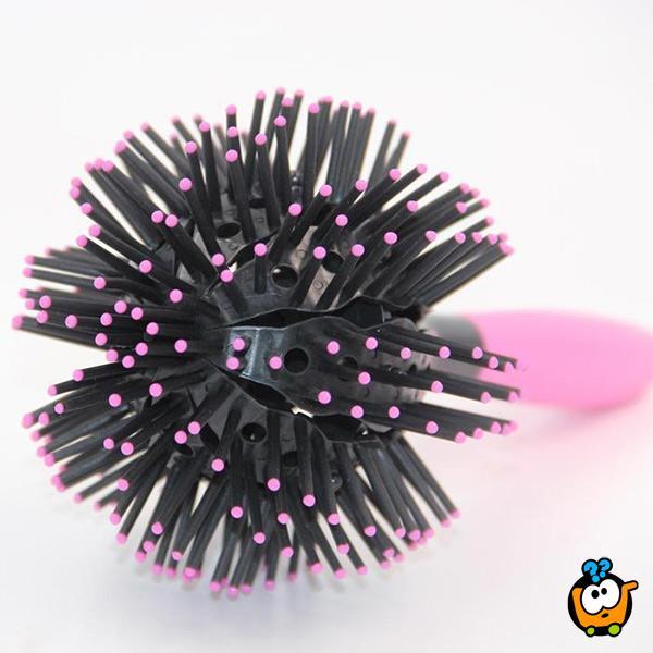 3D BombCurl Brush - JAPANSKA četka za lokne, talase i volumen kose
