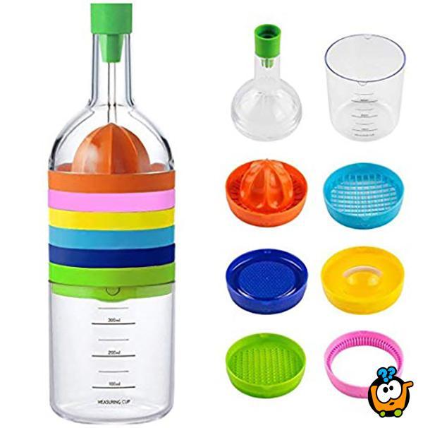 Kuhinjski set 8 u 1 u obliku flaše