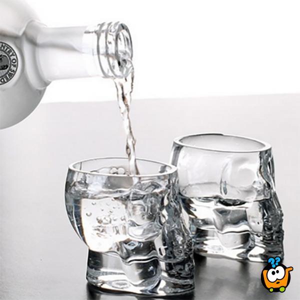 Crystal Skull Shot - Set kristalnih čašica