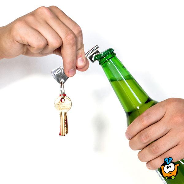Otvarač flaša u obliku ključa za bravu