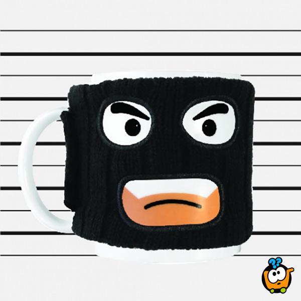 Kreativna maskirana šolja - Krimi