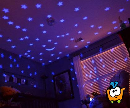 Zvezdana kornjača - zvezdano nebo u Vašoj sobi