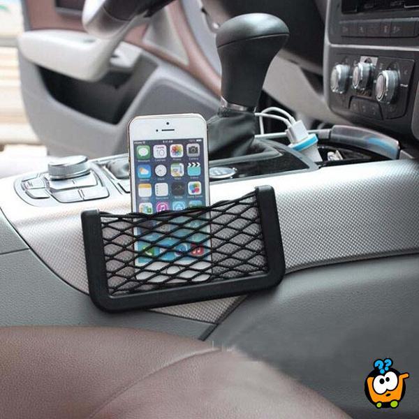 String Car Net - Univerzalna mrežica za držanje telefona i sitnih stvari u autu