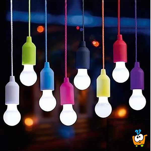 LED LightBulb - Prenosiva svetiljka za osvetljavanje na bilo kojem mestu