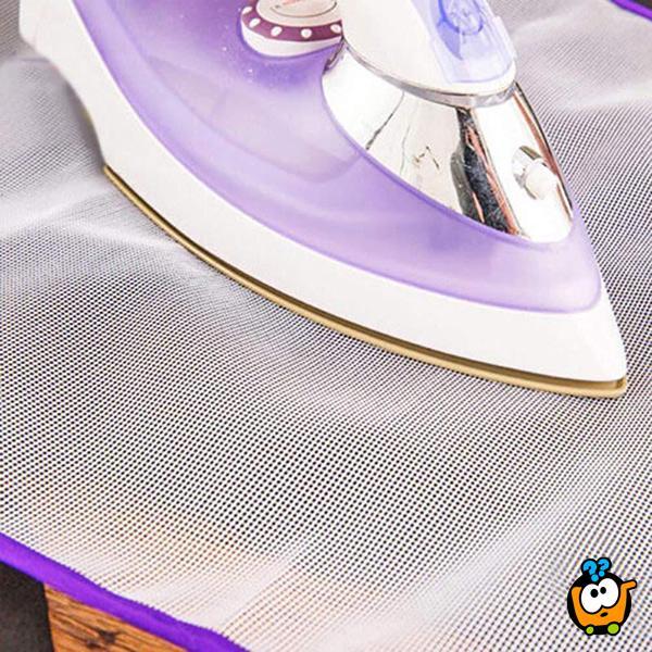 Podloga za sigurno i brzo peglanje bez oštećenja tkanine