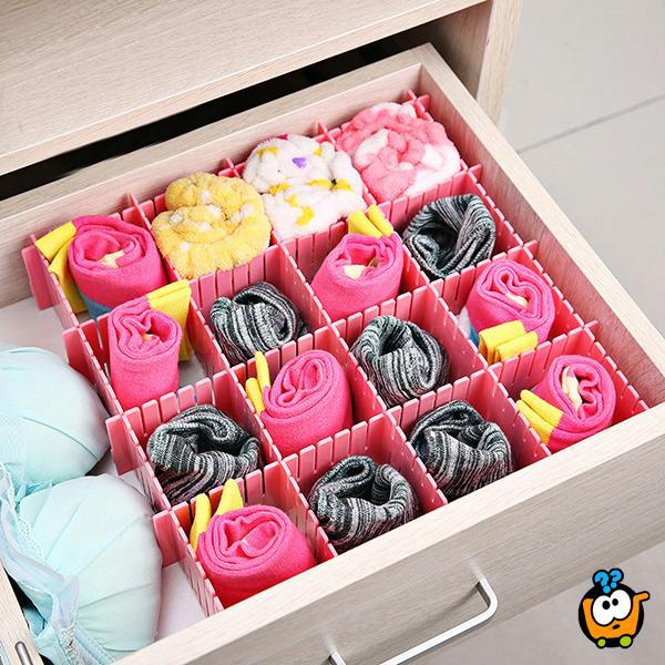 Sock organizer - Praktični organizer čarapa za fioke