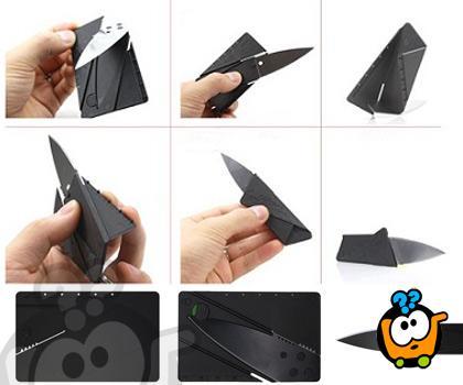 Micro Knife - Dva ultra tanka noža u obliku kartice