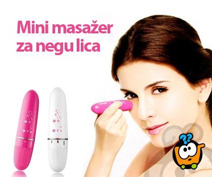Mini masažer za relaksaciju tela i podmlađivanje lica