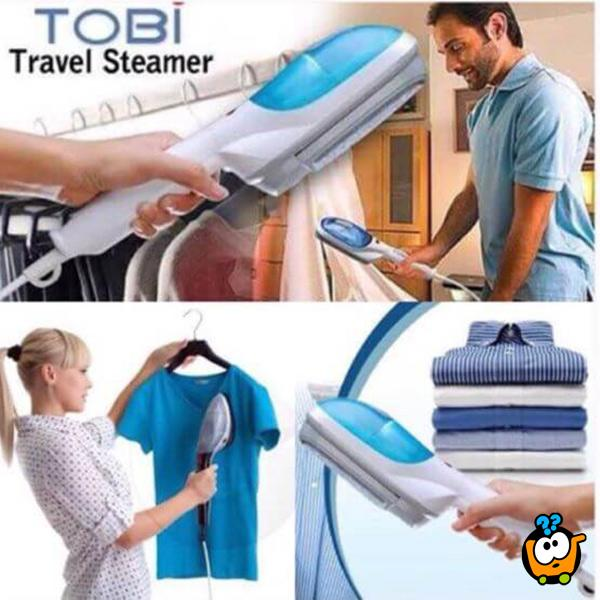 Prenosivi paročistač odeće