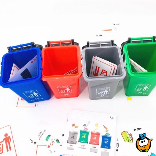 Edukativna društvena igra Reciklaža za decu